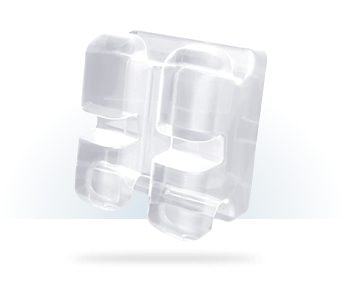 aparat dentar safir inspire Ice ormco fizionomic
