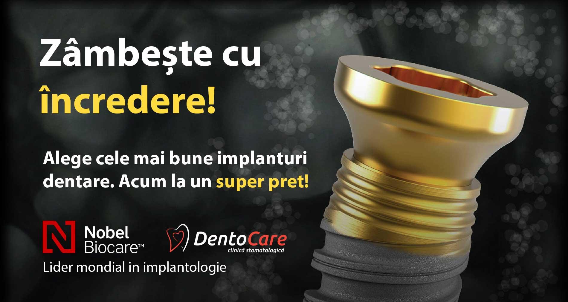 oferta nobel biocare implant dentar bun