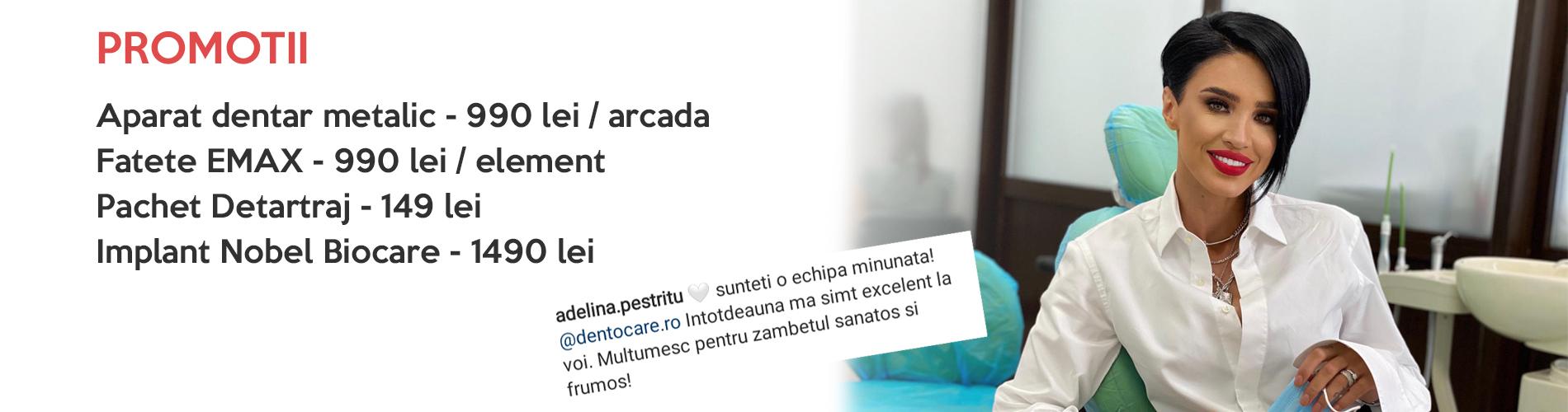 banner clinica stomatologica dentocare adelina pestritu